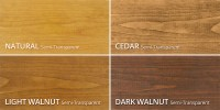 Restore-A-Deck Wood Stain Color Chart