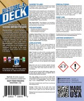 Restore A Deck Cleaner Brightener 1000 Kit