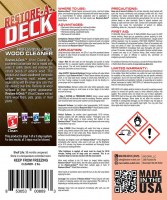 Restore-A-Deck Cleaner Product Data Sheet