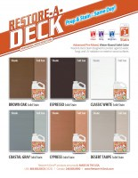 Restore-A-Deck Solid Color Wood Stain