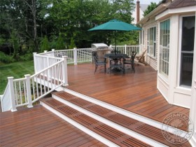 Two Toned Decks Re A Deck Wood